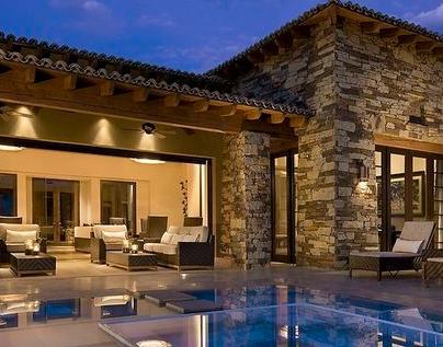 Fotos de terrazas terrazas y jardines terrazas de casas for Techos de teja para terrazas