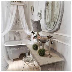 Il bagno Gustavian Chic