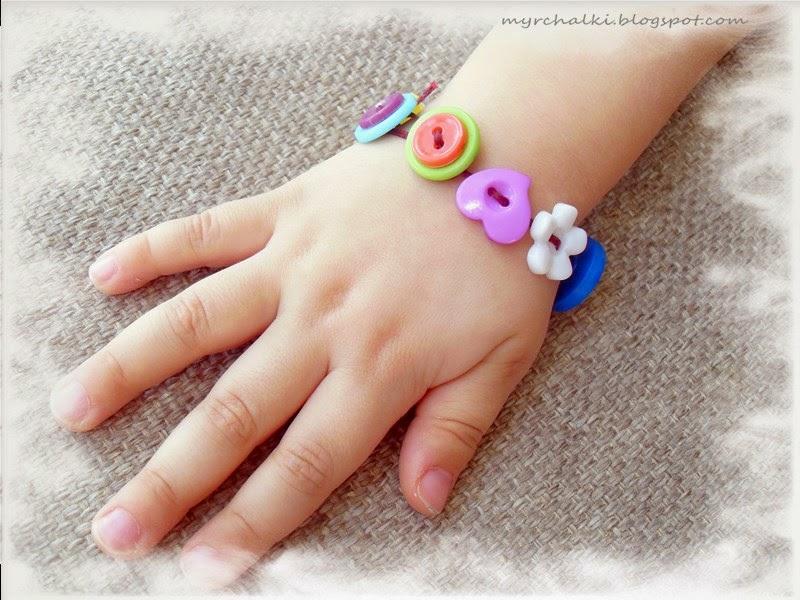 браслетик для девочки своими руками