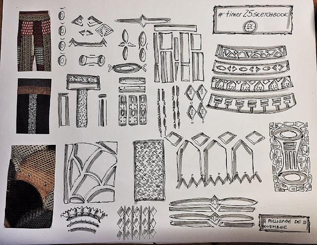 Milliande Timer 25 Sketchbook Studies - Day 4