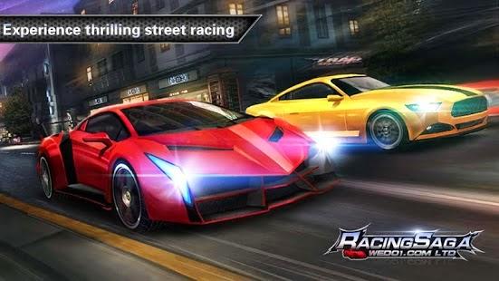 یاری بۆ ئهندرۆید Racing Saga