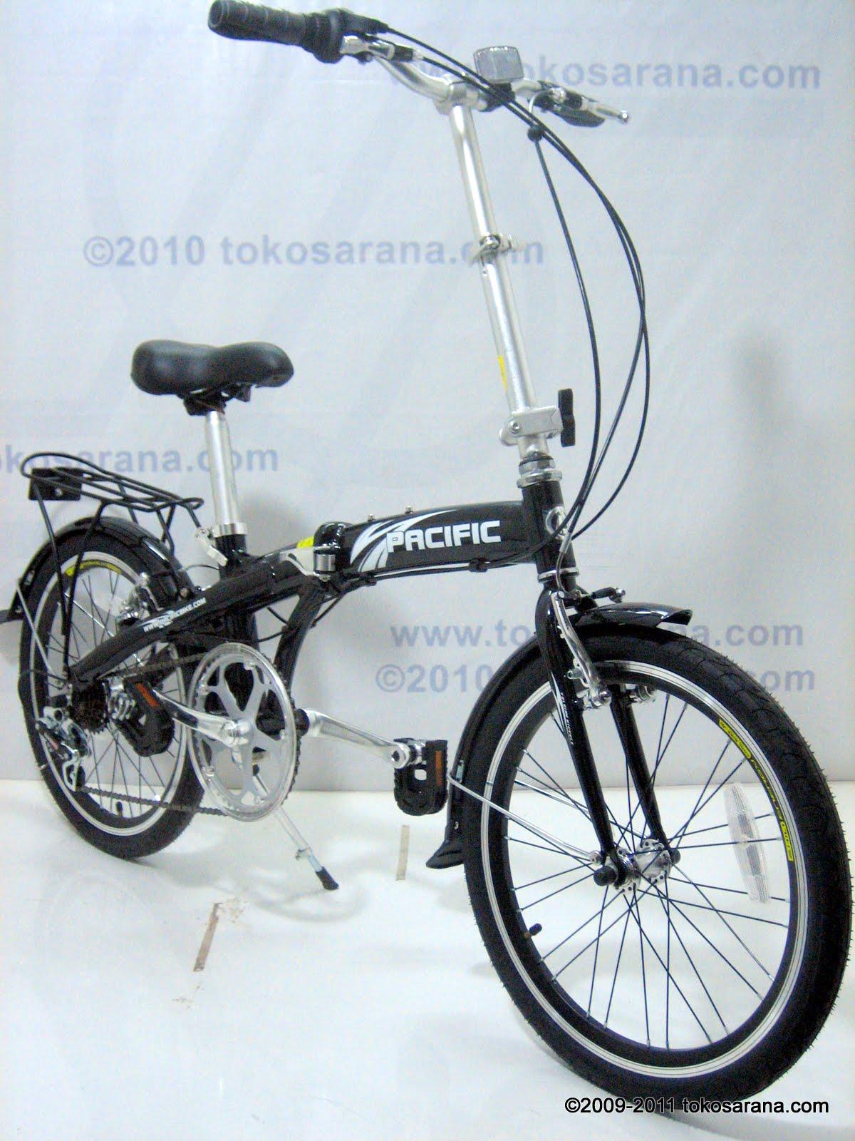 ABADI SHOPP: Sepeda Lipat Pacific Alloy Frame 20 Inch