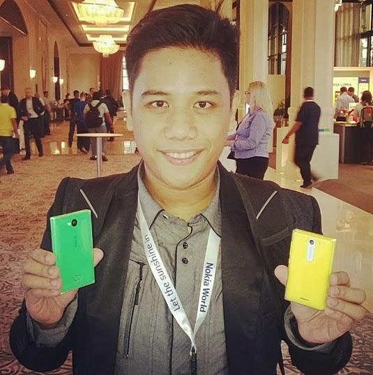 Nokia Asha 503, Nokia Asha 503 Philippines, Mark Milan Macanas