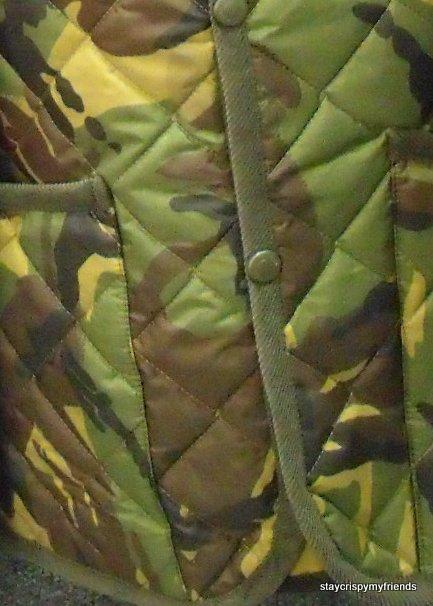 Lavenham Camo Quilted Jacket