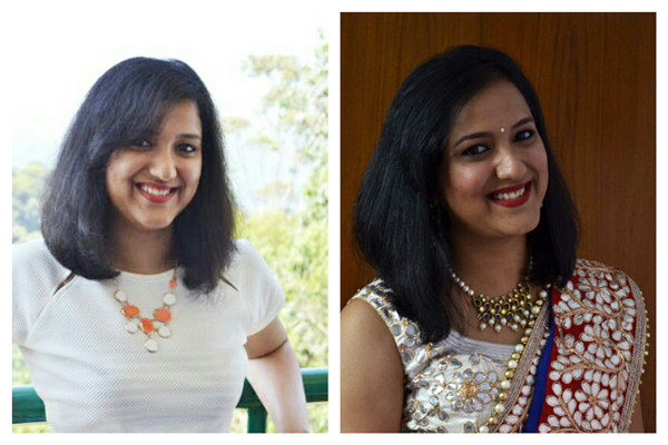 Straight Hairstyle for short Hair India
