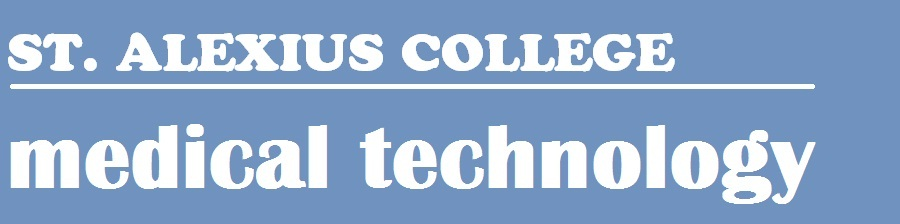 ST. ALEXIUS COLLEGE - MEDICAL TECHNOLOGY