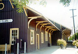 CA. Oldest Train Depot