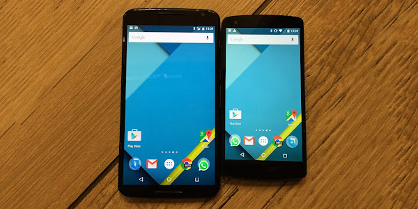 Google Nexus 6 and Google Nexus 5