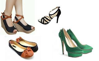 Bagaimana Memilih Sepatu Wanita Sesuai Bentuk Kaki?