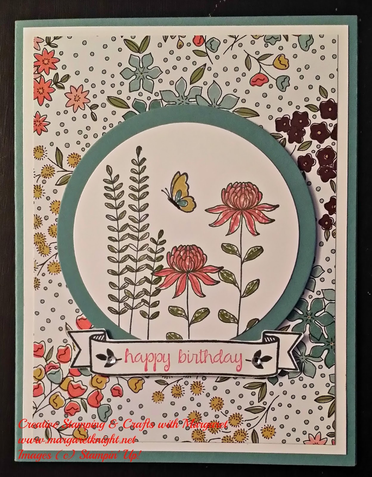 "A ""Flowering Fields"" Birthday - Creative Stamping With ..."