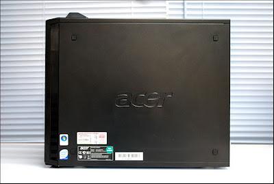 acer veriton m670g komputer bekas murah built-up uberma computer samping