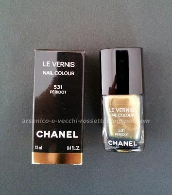 Chanel Le Vernis Péridot #531