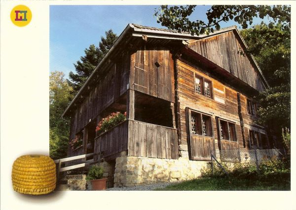 wooden farmhouse in Liectenstein
