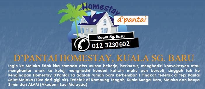D'Pantai Homestay Kuala Sungai Baru