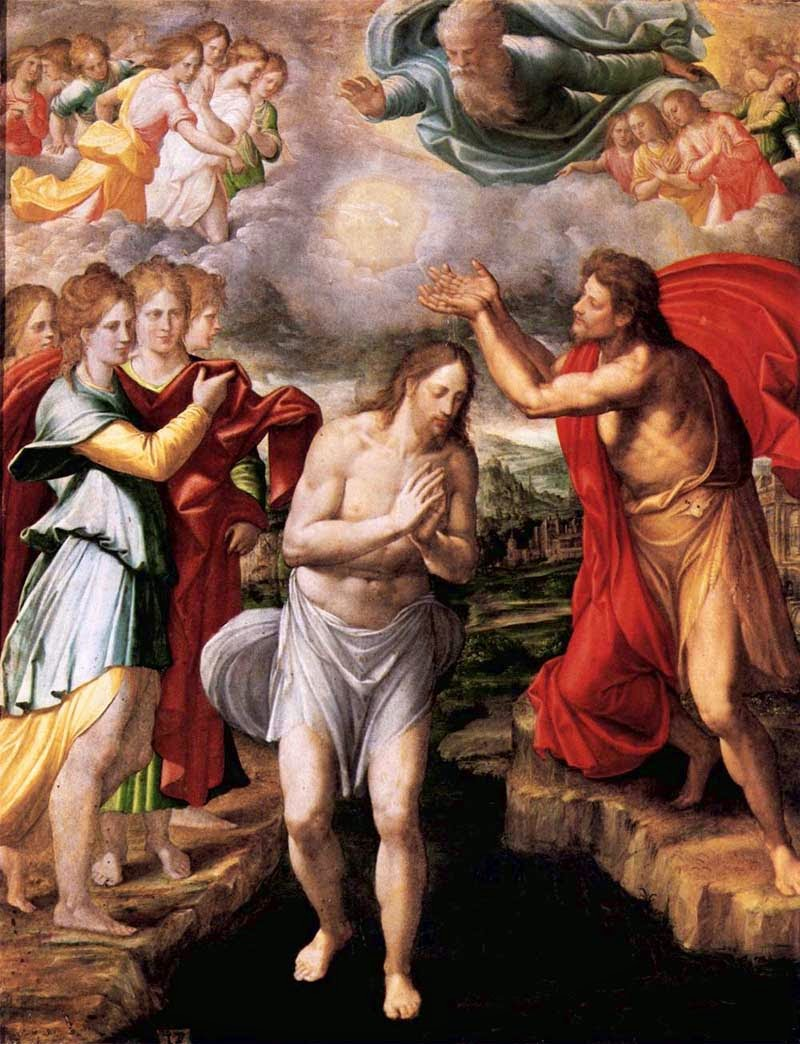 He Will Baptize You With The Holy Spirit Readings For Feast Of Baptism Lord