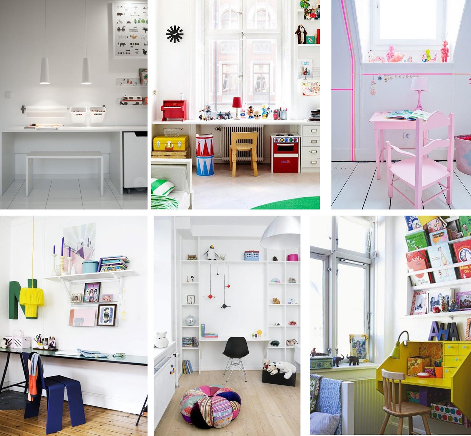 Espacios para trabajar - HomePersonalShopper, casa, luz, blanco, niños, peques, infantil, negro, compartido, color, tranquilo, motivador, pequeño, rincón, amplio, luminoso, escondido