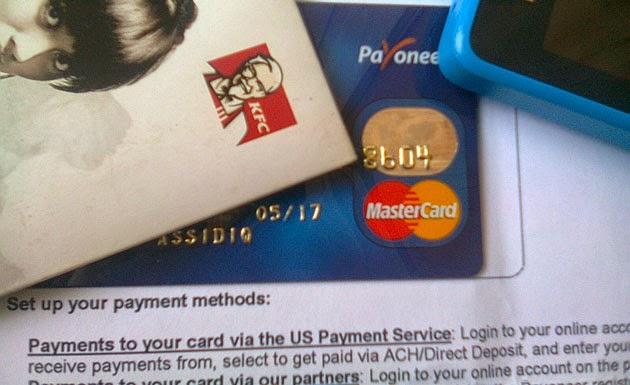 Cara Mengaktifkan Kartu Debit Payoneer 1