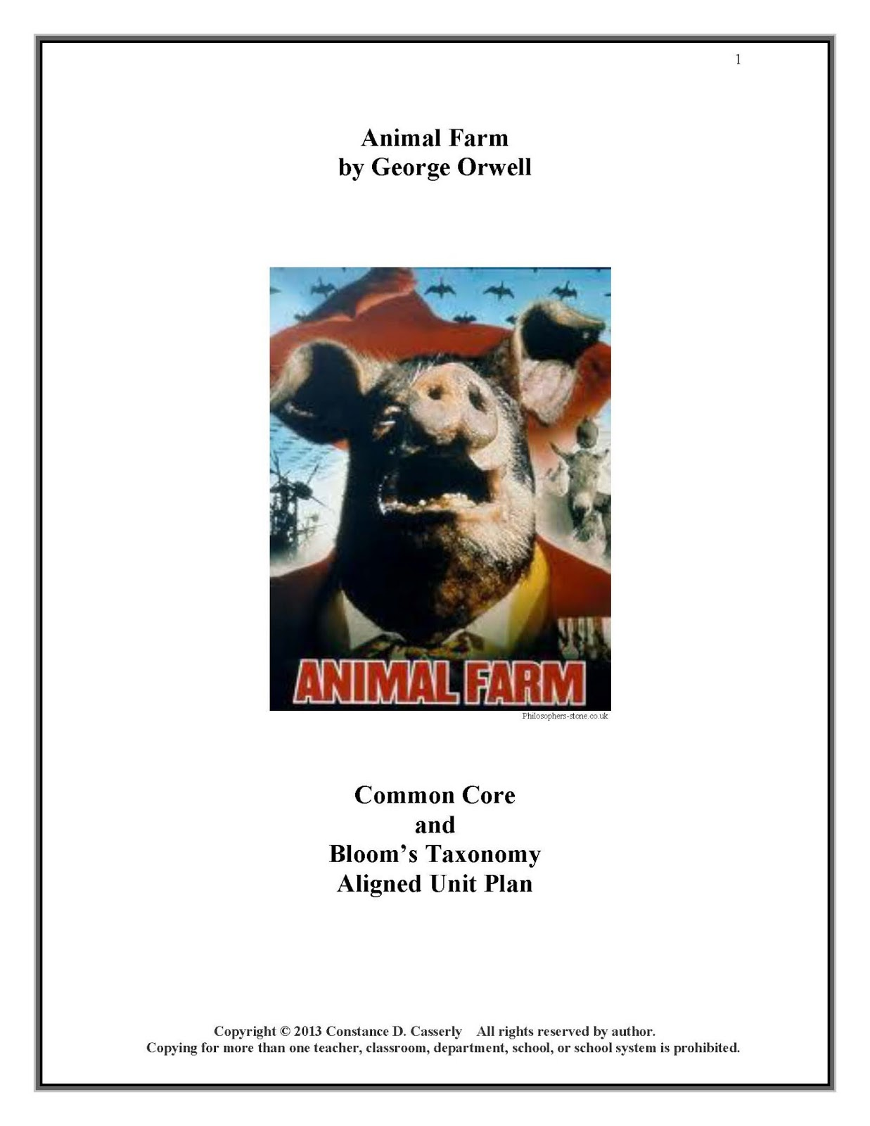 revolution in george orwells animal farm essay