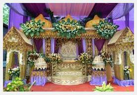 Pelaminan tercantik di indonesia