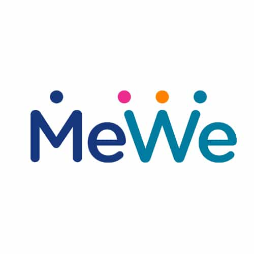 Sígueme también en MeWe.