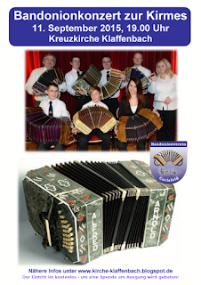 Für mehr Infos zum Bandonionkonzert hier klicken