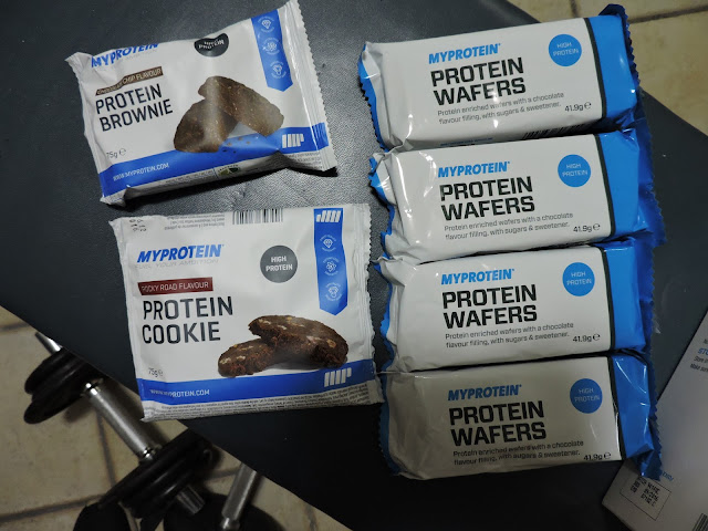 myprotein snack proteici