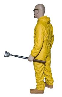 "Mezco Breaking Bad 6"" Haz-Mat Suit Walter White SDCC 2013 Exclusive Figure"