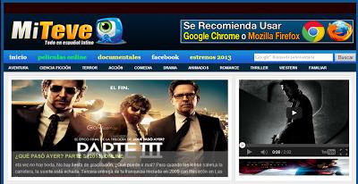 MiTeve.net : Esta excelente pagina nos brinda el servicio de vídeos