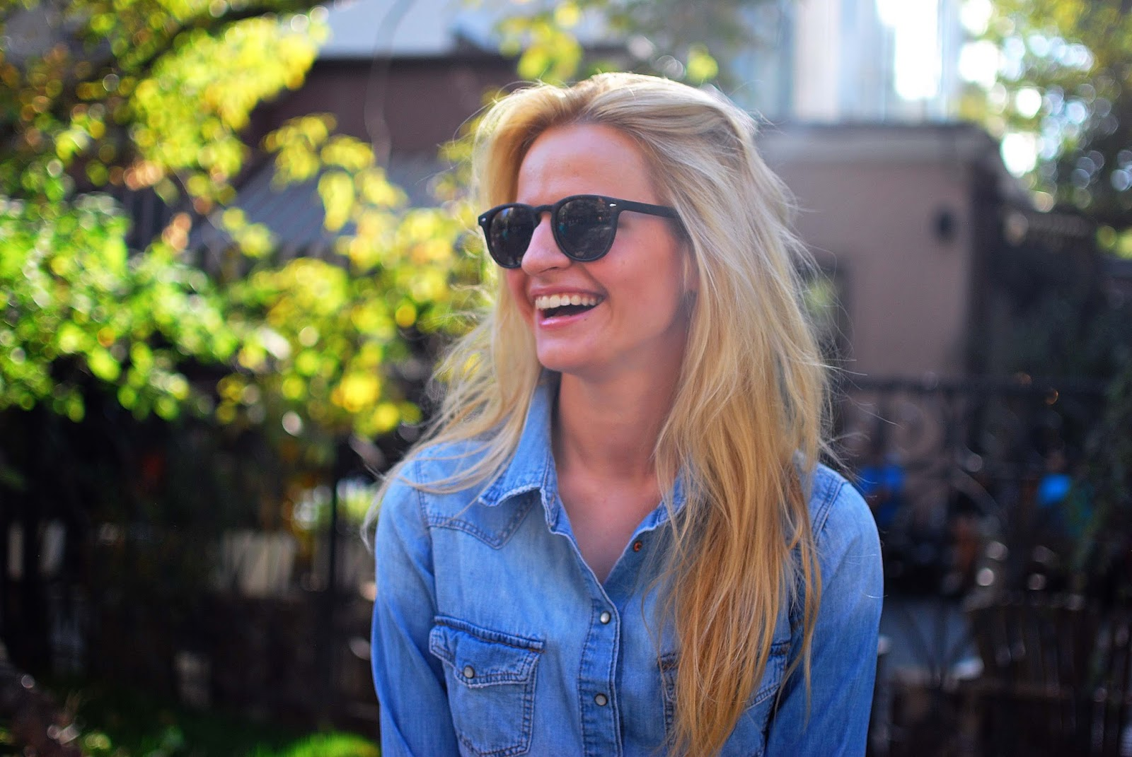 autumn portrait, autumn fashion photo, круглые очки для девушек