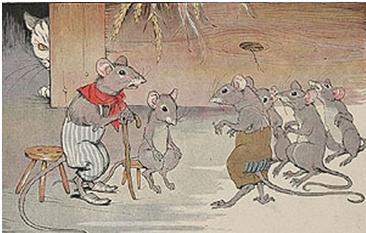 Fábula O Conselho Dos Ratos