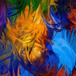 Abstract Painting Nature Wallpapers