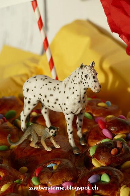 Pippi Langstrumpf Kuchen, kleiner Onkel, Herr Nilsson, Smartieskuchen