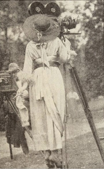 Alice Guy Be Natural ©riginal couleur 1900 Solax
