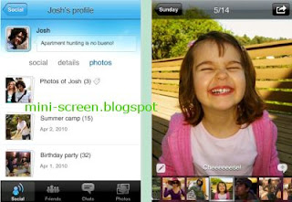 Windows Live Messenger for iPhone: Chat Interface