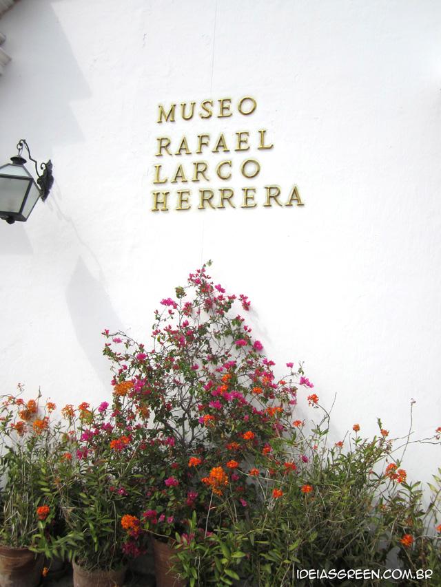Museu Larco tem um dos jardins mais bonitos do mundo - Perú #3