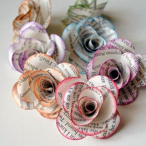 Deze lieve bloemetjes, niet moeilijk om te maken!
