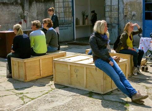 wooden crate | Vietnam outdoor furniture