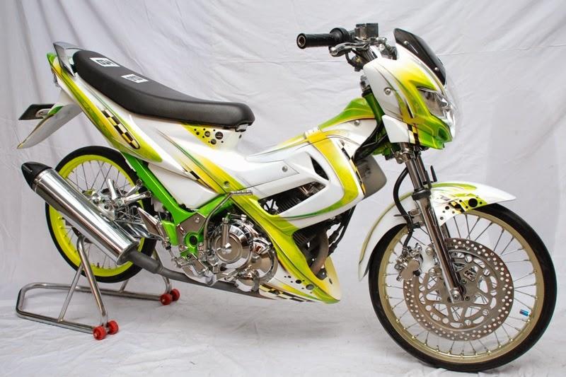 Suzuki Satria FU Modif Keren