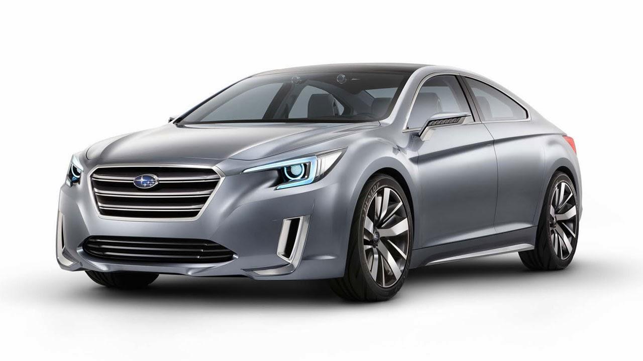 Subaru Legacy Concept front