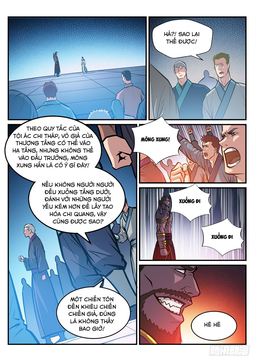 BÁCH LUYỆN THÀNH THẦN Chap 255 - Trang 13