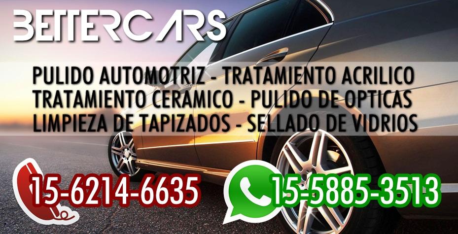 BETTERCARS DETAIL  | TRATAMIENTOS CERAMICOS Y ACRILICOS PARA AUTOS