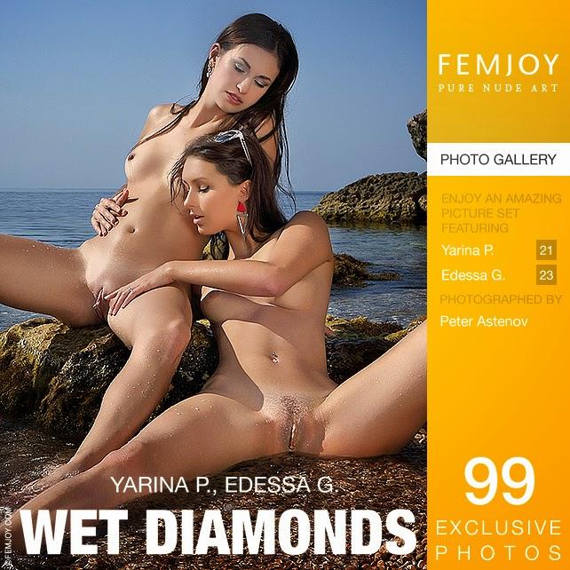 Femjoy0-18 Edessa G & Yarina P - Wet Diamonds 09230