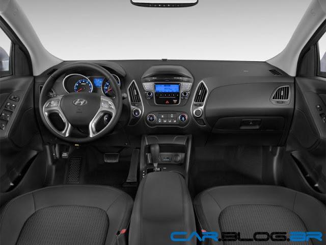 Hyundai ix35 2013 Flex - painel