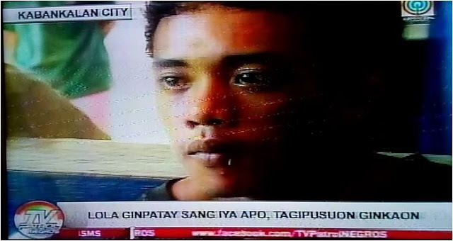 A Guy In Negros kill her own grandma and eats her heart