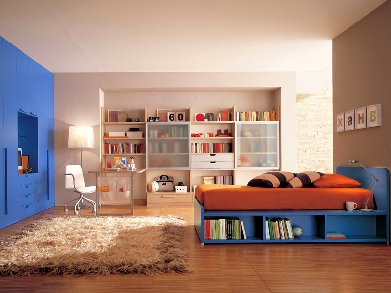 22 beautiful ideas for kids room decorating for teen boys for Decor boys bedroom ideas