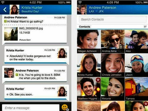 BlackBerry Messenger For Android Free Download