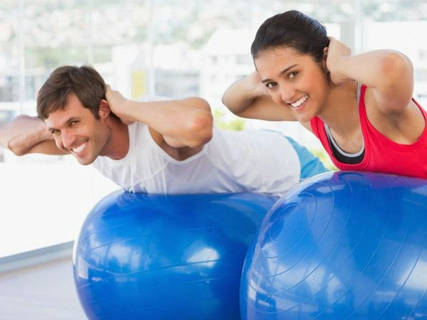 Mental Benefits of Physical Exercise - man woman work out sport