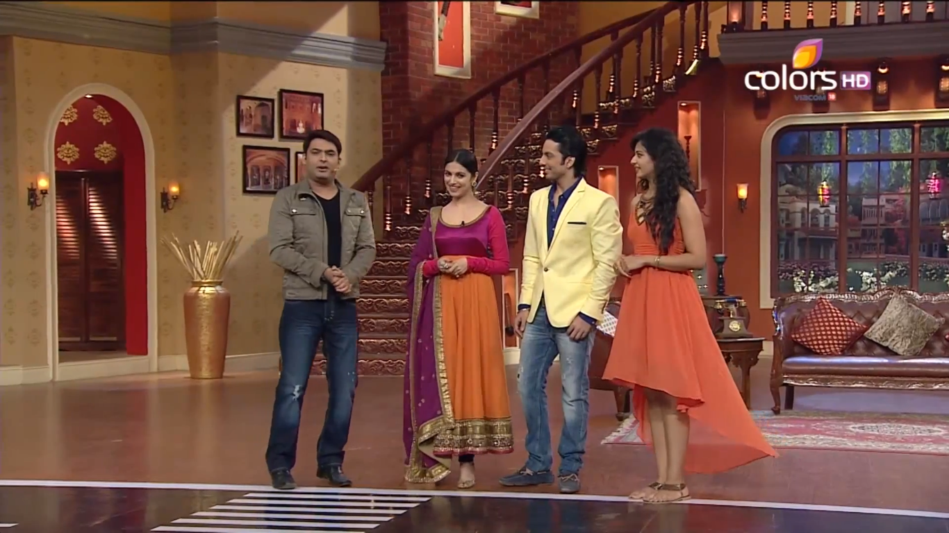 comedy nights with kapil yaariyan team