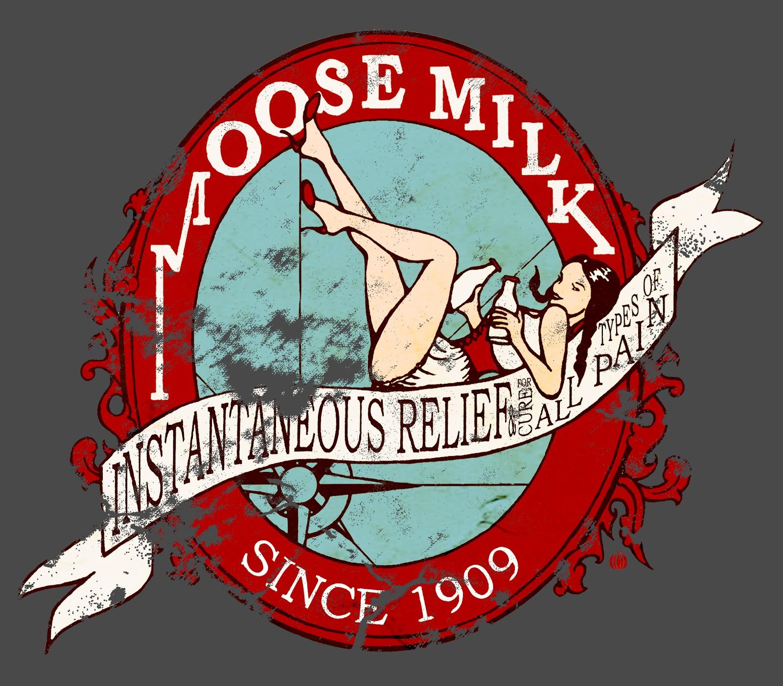 Red Pumpkin Studio Moose Milk T shirt