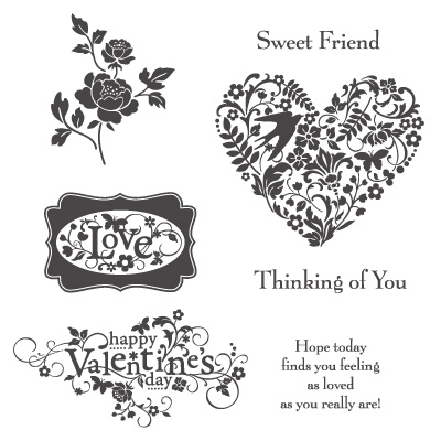 Stampin' Up! You Are Loved Stamp Set Images